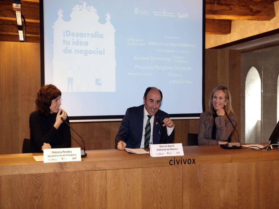 'Pamplona Emprende' trabaja en el desarrollo de 17 iniciativas empresariales