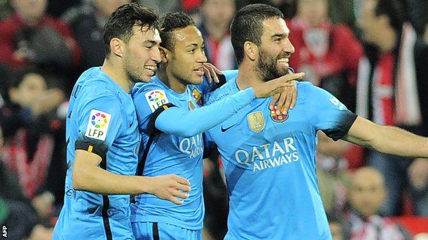 1-2.El Barcelona acaricia las semifinales de Copa en San Mamés