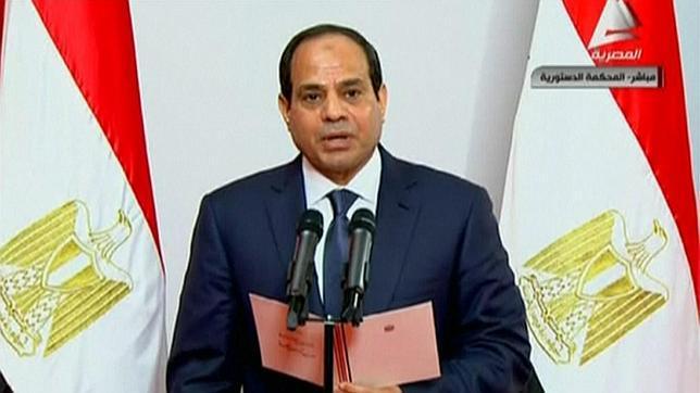 Al Sisi, reelegido presidente de Egipto con el 92% de los votos y una baja participación