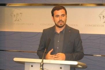 """Garzón ve """"imposible"""" el acuerdo si el PSOE no rompe su pacto con Ciudadanos"""