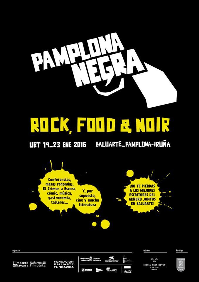 'Pamplona negra' atraviesa este jueves su ecuador con sesiones sobre la adaptación al cine y el cómic