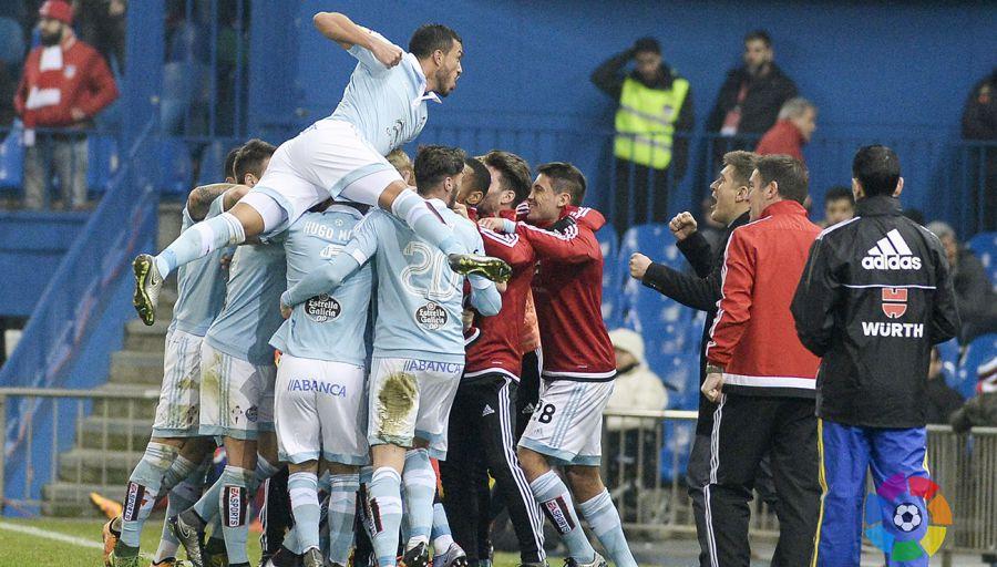 2-3. La ambición del Celta conquista el Calderón y las semifinales