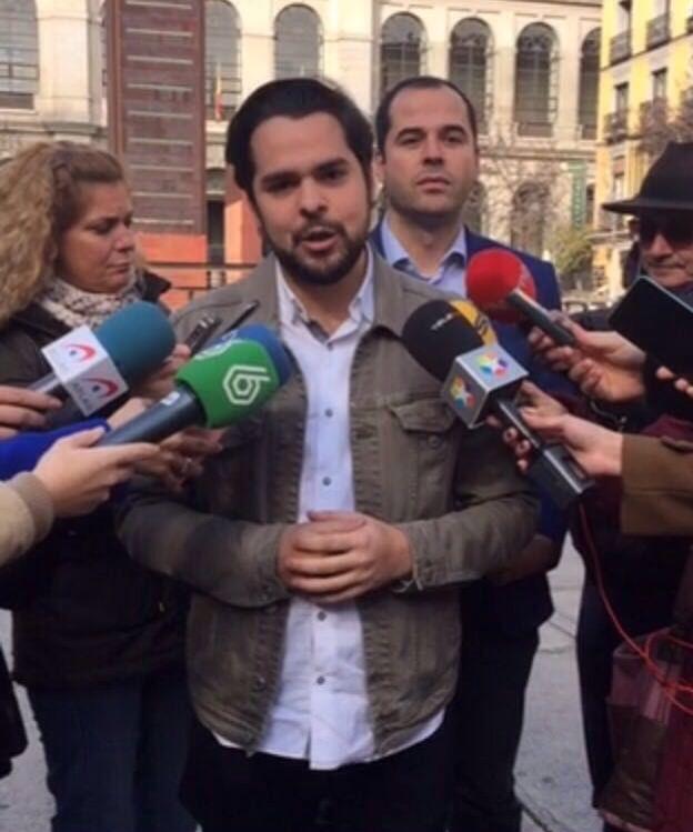 De Páramo (C's): 'No apoyaremos un Gobierno del PSOE con Podemos y separatistas que cuestionan la unión y la igualdad de los españoles'