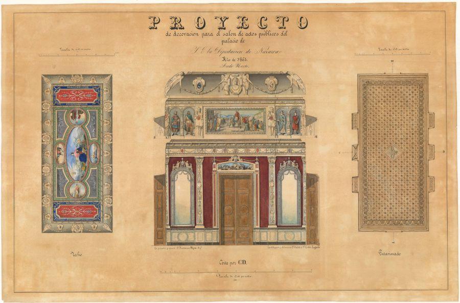 30 nuevos documentos gráficos se suman a los fondos de cartografía histórica online del Archivo de Navarra
