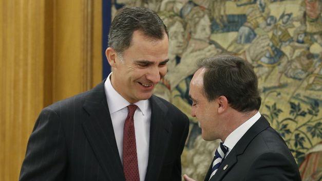 UPN subraya al Rey que España necesita un Gobierno