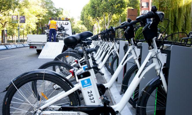 La 'app' de transporte público Moovit ahora incluye bicicletas de alquiler