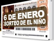 Consignados 9,8 millones de euros a Navarra para la lotería de El Niño