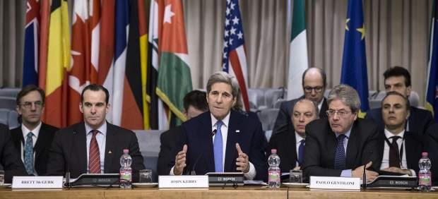 Comienza en Roma la cumbre de la coalición internacional contra el EI