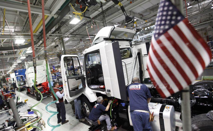 La economía de EEUU creció a un ritmo del 2,2 % en el primer trimestre de 2018