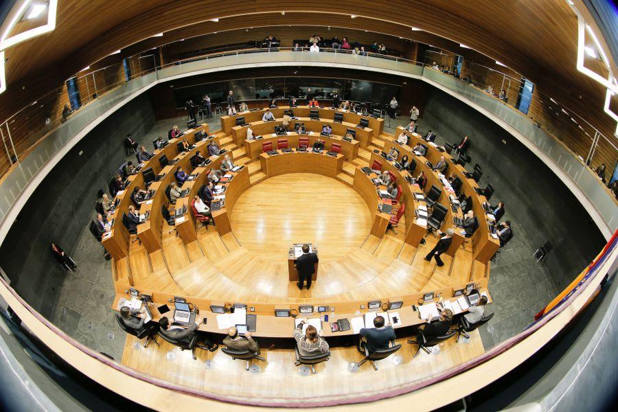 El Parlamento Foral rechaza el proyecto de Ley de Cuentas Generales de Navarra de 2014