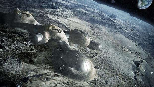 Agencia Espacial Europea (ESA) quiere construir una base permanente en la Luna