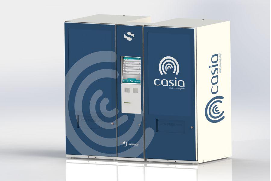 La empresa Sentil de Navarra presenta el innovador dispensador de sistema 'Casia'