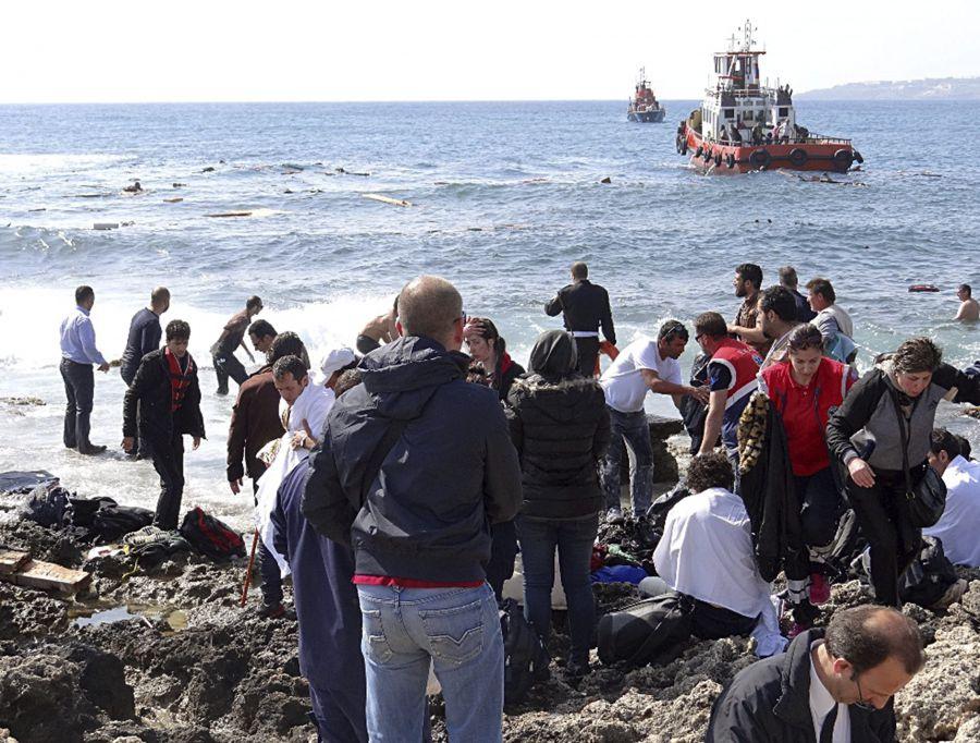 Más de 110.000 inmigrantes y refugiados han llegado a Europa en menos de dos meses
