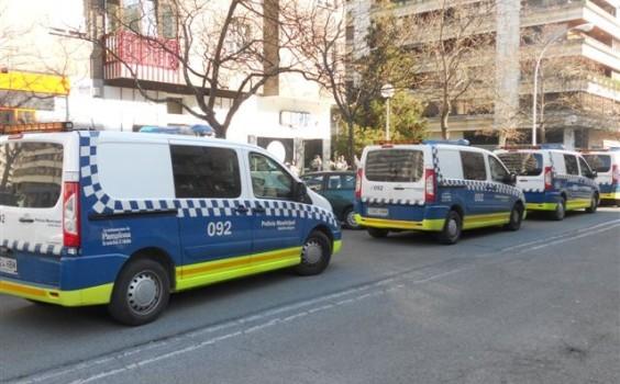 La Policía Municipal de Pamplona evita una pelea entre 200 personas