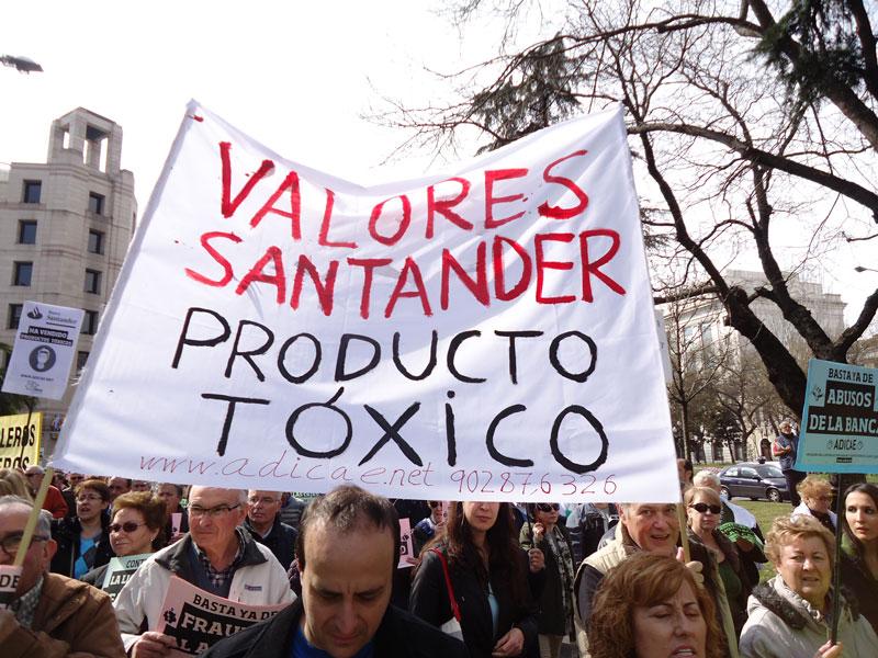 Banco Santander, condenado en Valencia por sus 'Valores Santander'