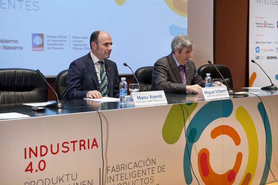 El vicepresidente Ayerdi destaca el salto cualitativo que supondrá la industria 4.0 en la organización de la empresa