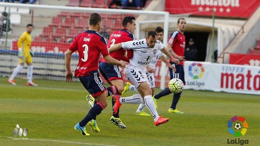 3-1. El Albacete coge aire a costa de un inoperante Osasuna