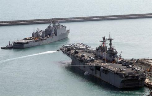 Corea del Sur y EE.UU. inician sus mayores maniobras militares conjuntas