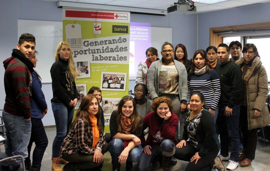Cruz Roja y Bankia promueven formación para personas con especiales dificultades de empleabilidad
