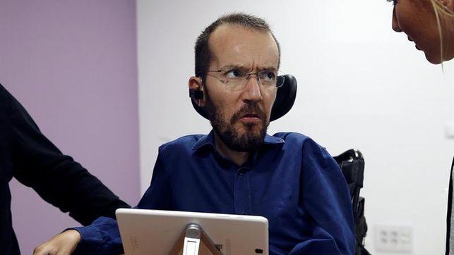 El Ayuntamiento de Zaragoza reprueba a Pablo Echenique por el contrato irregular de su asistente
