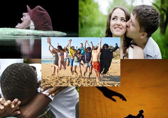 La sustancia de las emociones: amor, miedo, alegría, tristeza y rabia