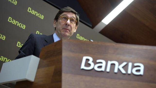 Bankia prevé repartir 2.500 millones en dividendos hasta 2020