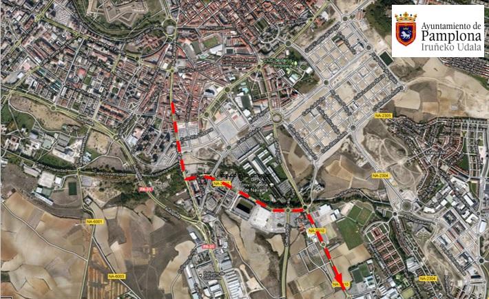 Recomendaciones del Ayuntamiento de Pamplona para peatones y vehículos durante las Javieradas de los días 6 y 12 de marzo