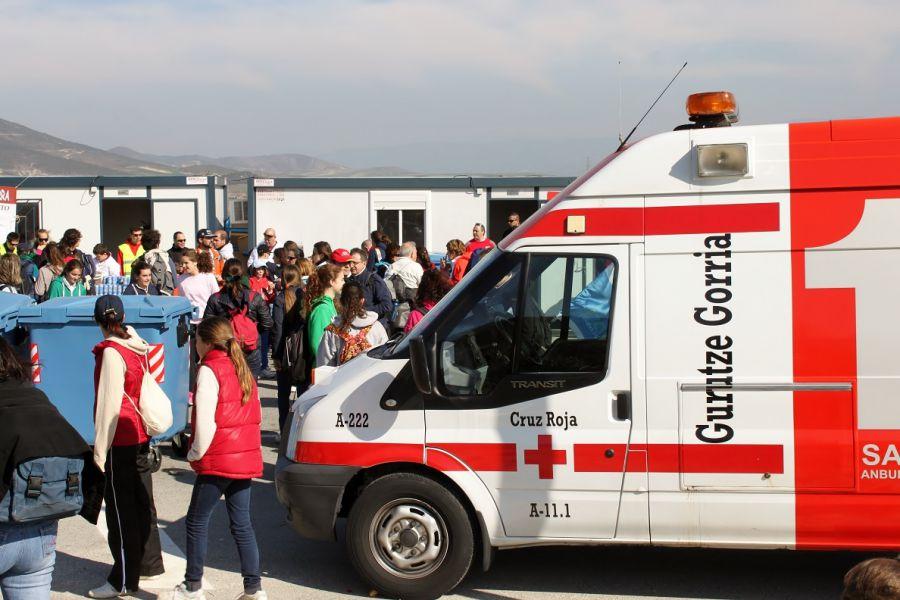 En marcha el dispositivo de Cruz Roja para la segunda Javierada 2016