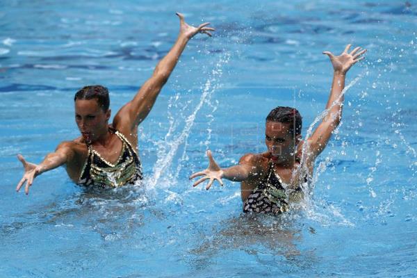 El dúo de natación sincronizada garantiza un cupo en los JJOO