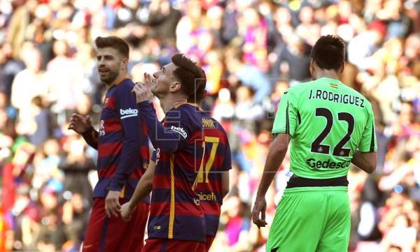 6-0. Fácil para el Barça ante un Getafe en caída libre