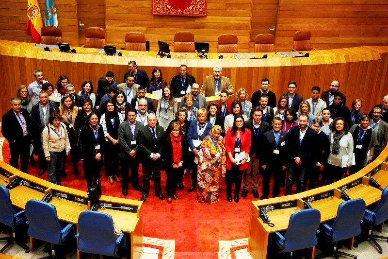 El Parlamento de Navarra participa en la 'XX Conferencia intergrupos Paz y libertad para el pueblo saharaui'