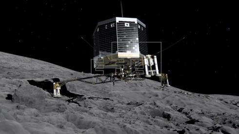 La nave Rosetta descubre una región sin campo magnético en el cometa que estudia