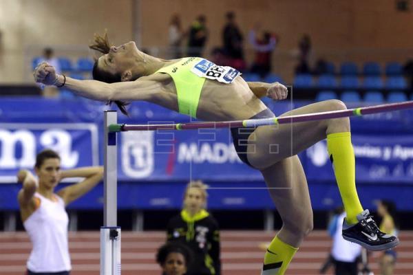Ruth Beitia vuela sobre 1,98, mejor marca mundial del año