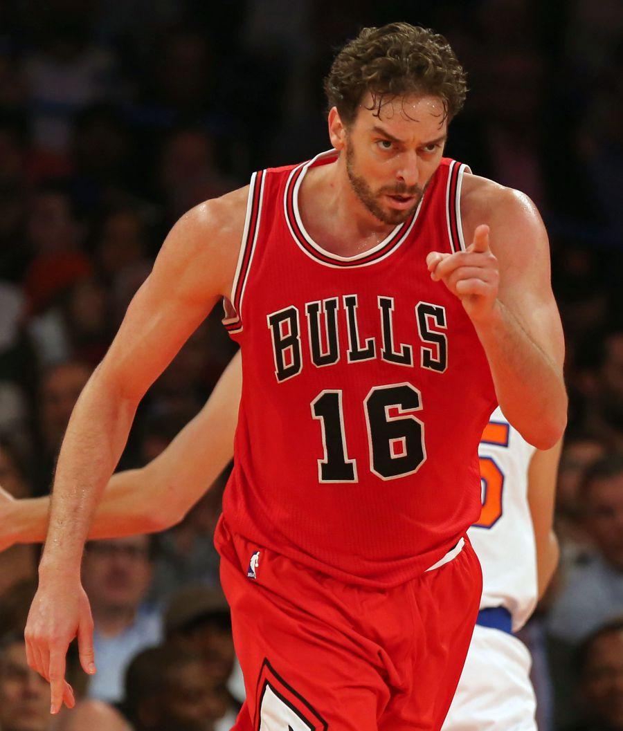 100-90. Pau Gasol logró su segundo triple-doble y los Bulls vuelven a ganar