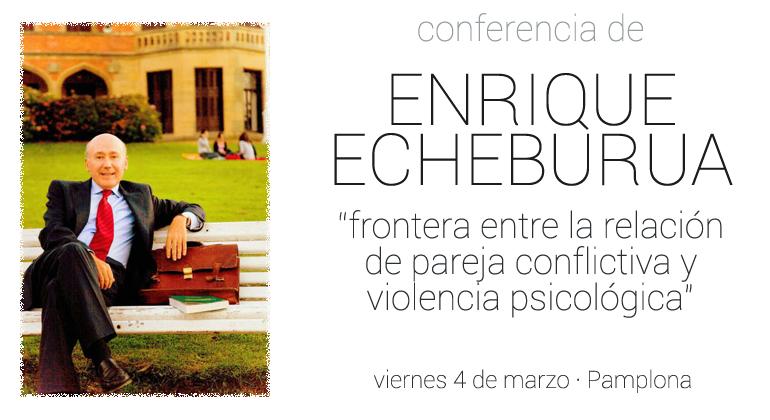 El psicólogo, Enrique Echeburúa, analizará en Pamplona en una conferencia la violencia psicológica en la relación de pareja