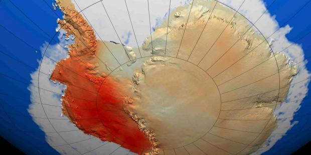 Deshielo antártico puede doblar las previsiones del aumento de nivel del mar