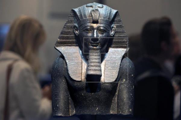 Una exposición descubre la nueva relación entre Egipto y los habitantes de Canaán