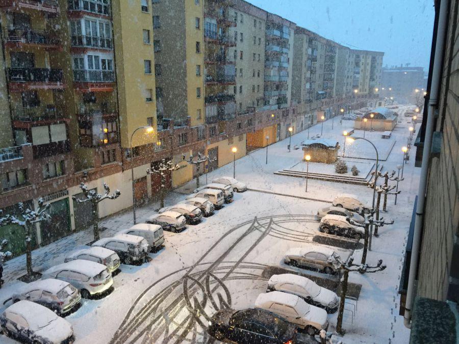 Pamplona activa el Plan de Nieve ante las previsiones meteorológicas