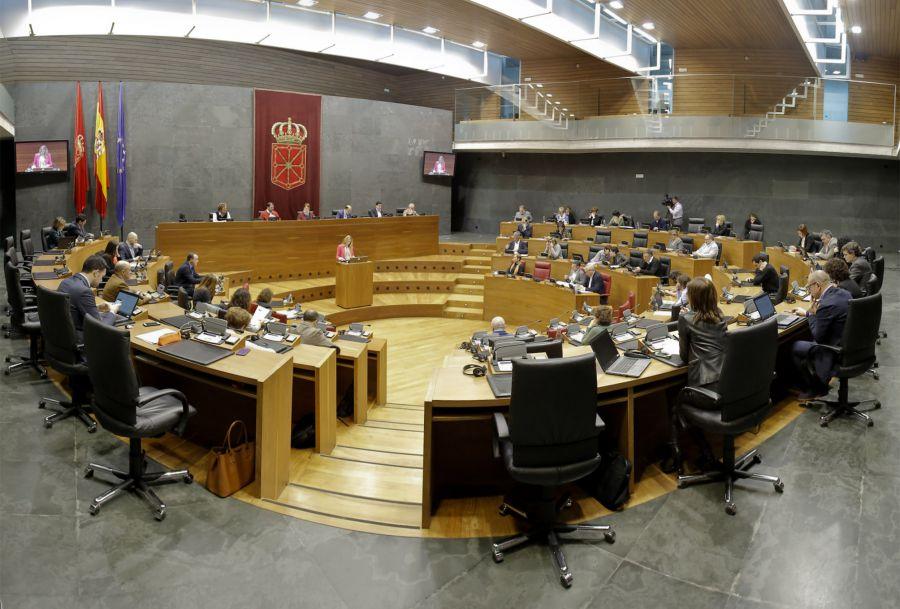 El Parlamento de Navarra debate sobre Política Sociales en un pleno monográfico