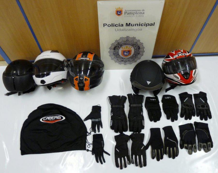 La Policía Municipal detiene a dos menores de edad acusados de robar en varias motocicletas
