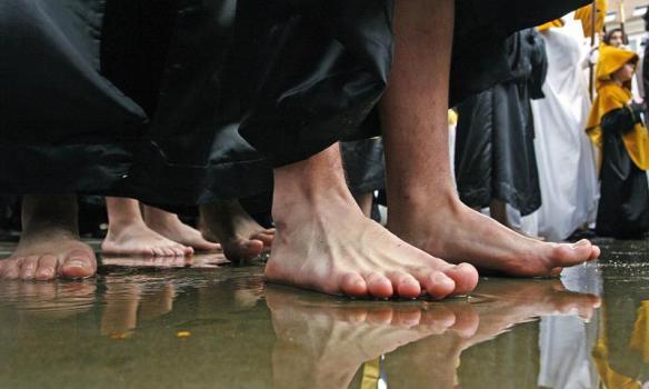 La lluvia, principal característica de la Semana Santa de los últimos 35 años