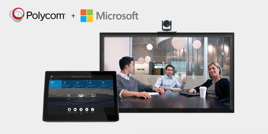 Polycom y Microsoft amplían su colaboración en vídeo para Office 365 y Skype for Business