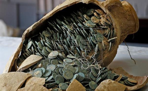 Tomares (Sevilla) se topa con un tesoro del Imperio Romano