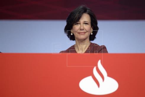 El Banco Santander gana 2.054 millones hasta marzo, el 10 % más