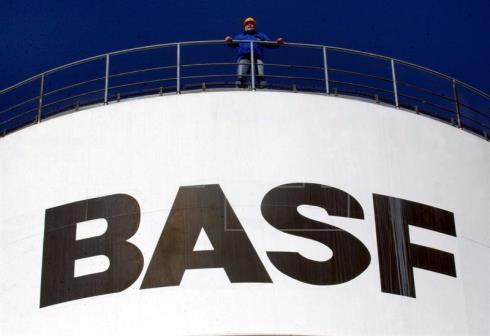 BASF ganó un 18 % mas en primer trimestre por menos impuestos