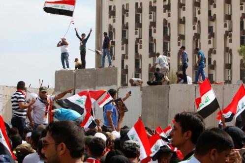 Líderes iraquíes se reúnen de urgencia tras el asalto a la Zona Verde y al Parlamento