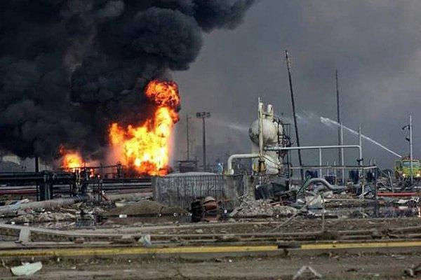 Una explosión en un complejo petroquímico de México deja al menos 3 muertos y 104 heridos