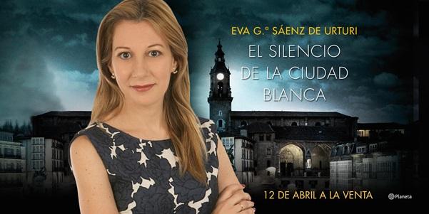 La vitoriana Eva García Sáenz de Urturi,  nueva dama de la novela negra