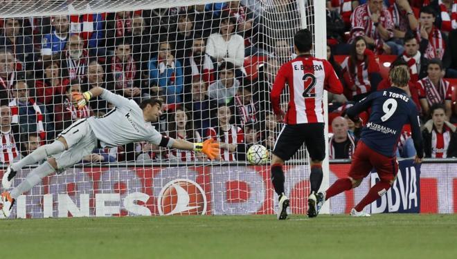 0-1. Gol de Torres y a seguir soñando