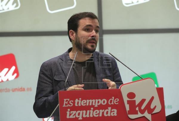 Garzón pide precaución con las encuestas pero